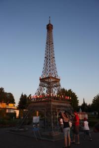 Eine Reise nach Paris.