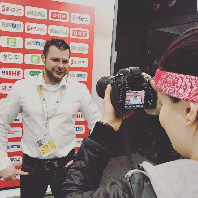 Social Media Fun with Libor amp sabrinaoehler Damen WM inhellip
