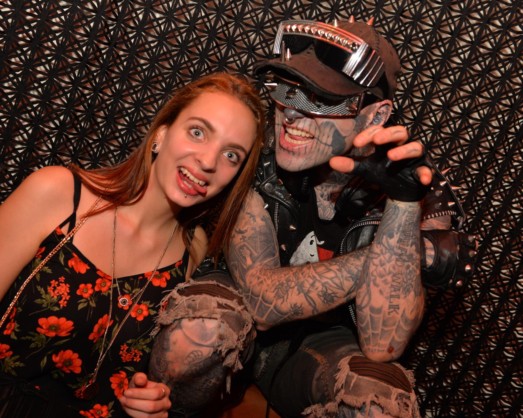 Verrückte Fotos waren natürlich auch erlaubt!- Zombie Boy meets Klagenfurt