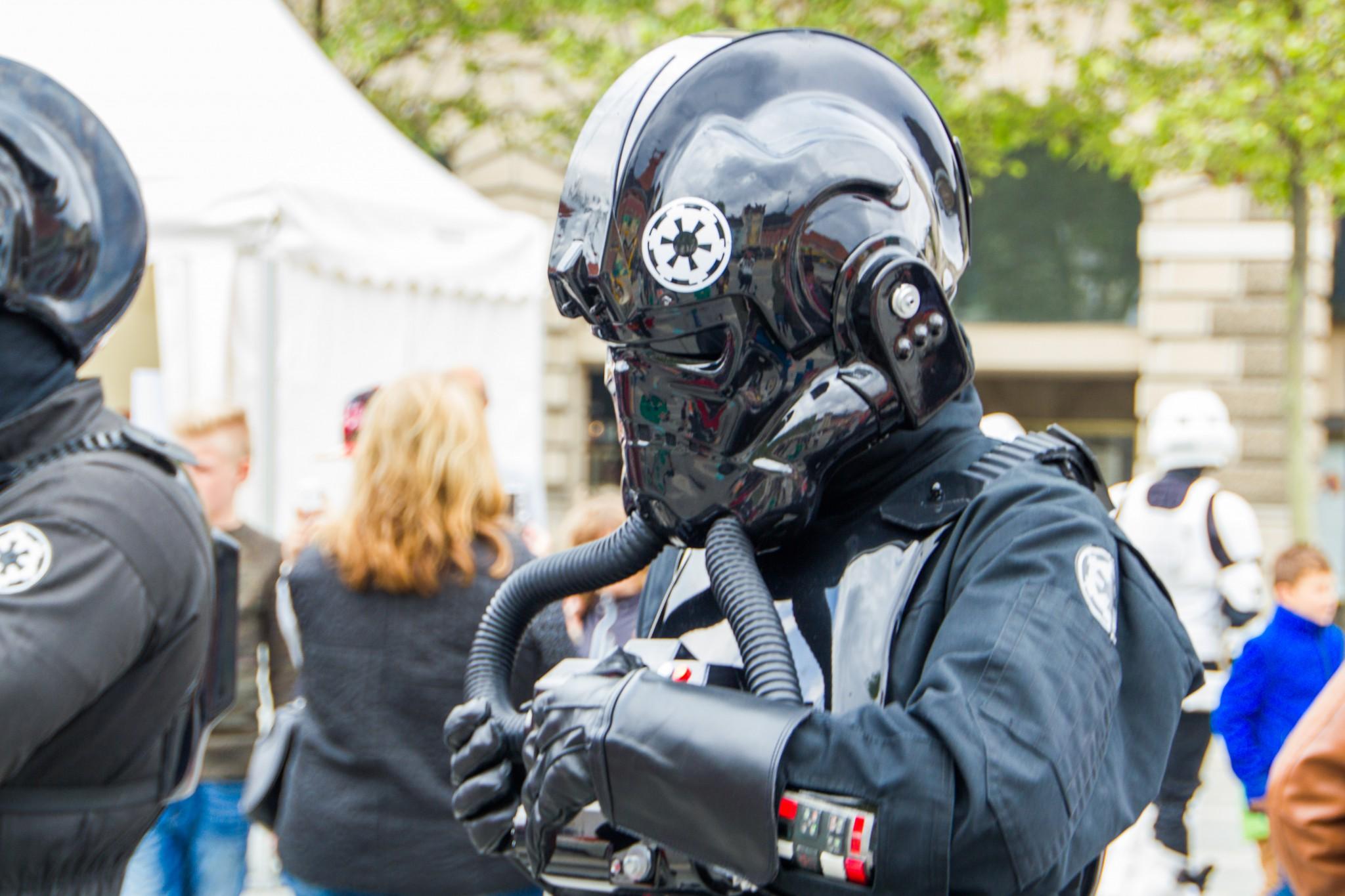Star Wars in der Lindwurmstadt. Foto: pixelpoint