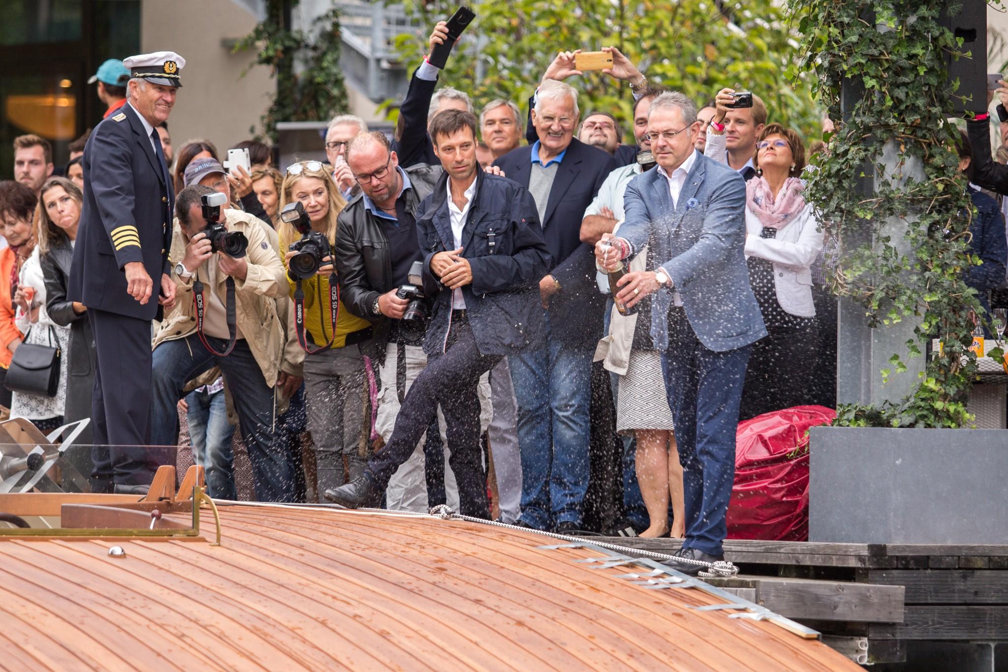 """Leadership"" Taufe in Klagenfurt. Foto: pixelpoint/Handler"