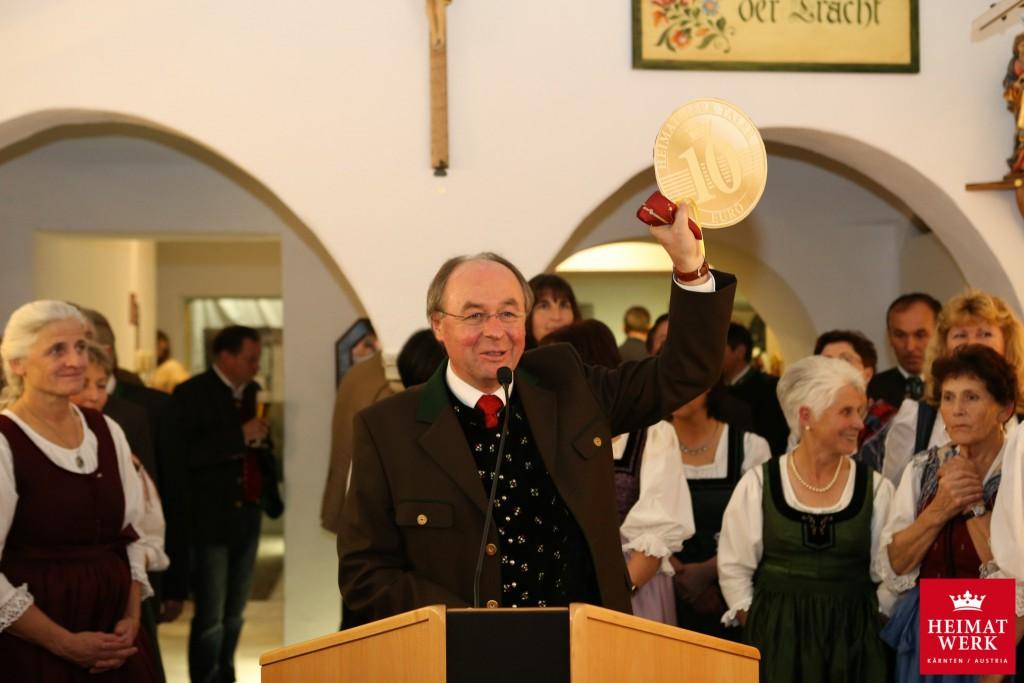Eröffnung Kärntner Heimatwerk 2015, Foto: Nicolas Zangerle