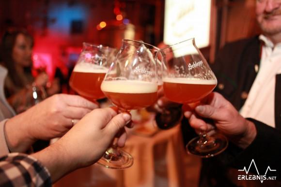 Prost mit dem neuen Craft-Beer der Schleppe Brauerei. Foto: pixelpoint/Zangerle