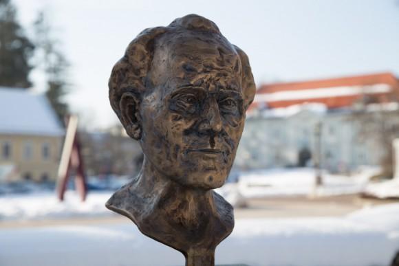 Gustav Mahler Büste. Foto: pixelpoint/Handler