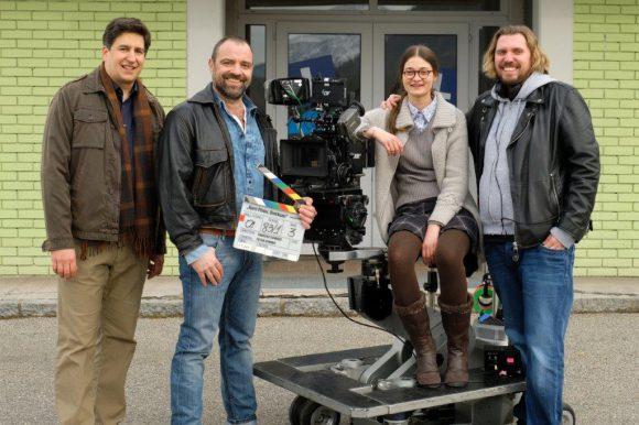 """Dreharbeiten zu Klagenfurter ORF-Stadtkomödie """"Harri Pinter, Drecksau"""". Foto:ORF/Graf Film/Petro Domenigg"""