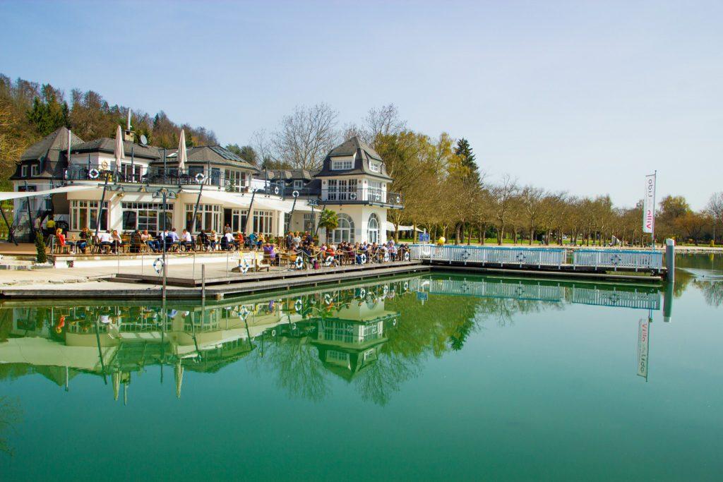 Die Villa Lido in der Ostbucht von Klagenfurt am Wörthersee. Foto: pixelpoint