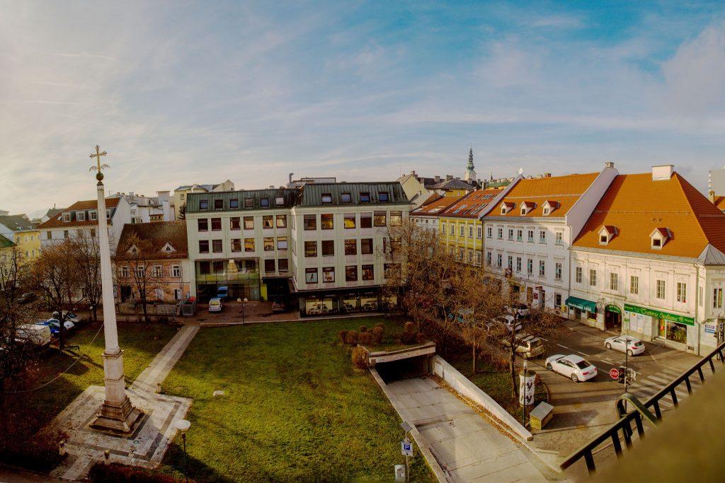 Der Kardinalplatz in Klagenfurt. Foto: pixelpoint