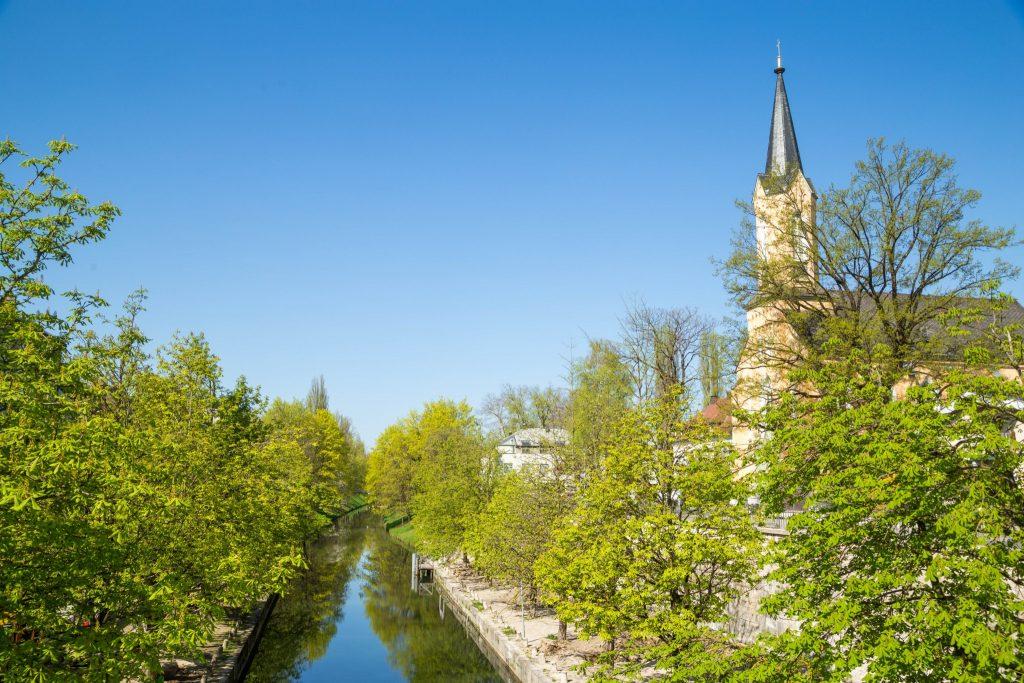 Der Lendhafen von Klagenfurt. Foto: pixelpoint