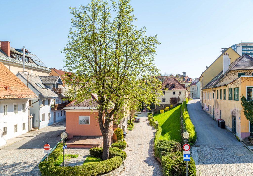 Das Lendhafenviertel von Klagenfurt. Foto: pixelpoint