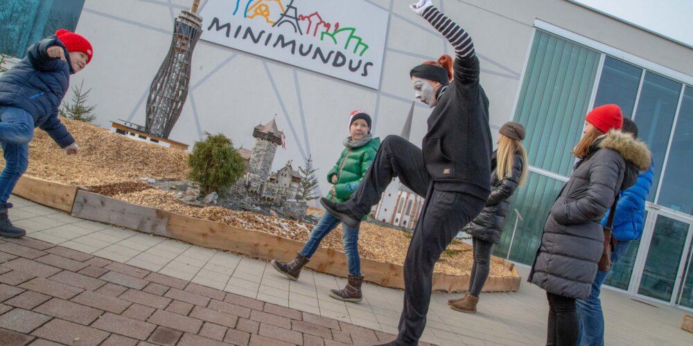 Winterzauber in Minimundus am Wörthersee