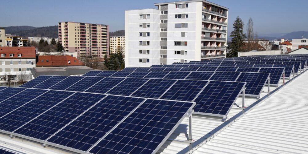 1. Klagenfurter Photovoltaik-Kraftwerk mit Bürgerbeteiligung