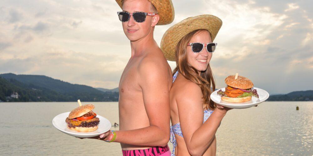"Klagenfurter Gastronom kreiert den ""Beach Burger"""
