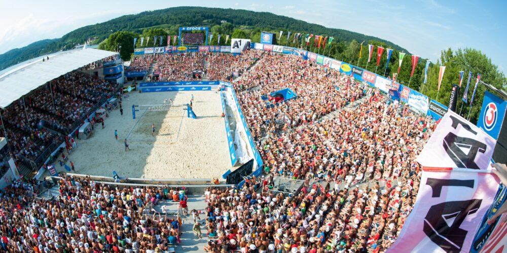 BeachVolleyball Europameisterschaft 2013 in Klagenfurt