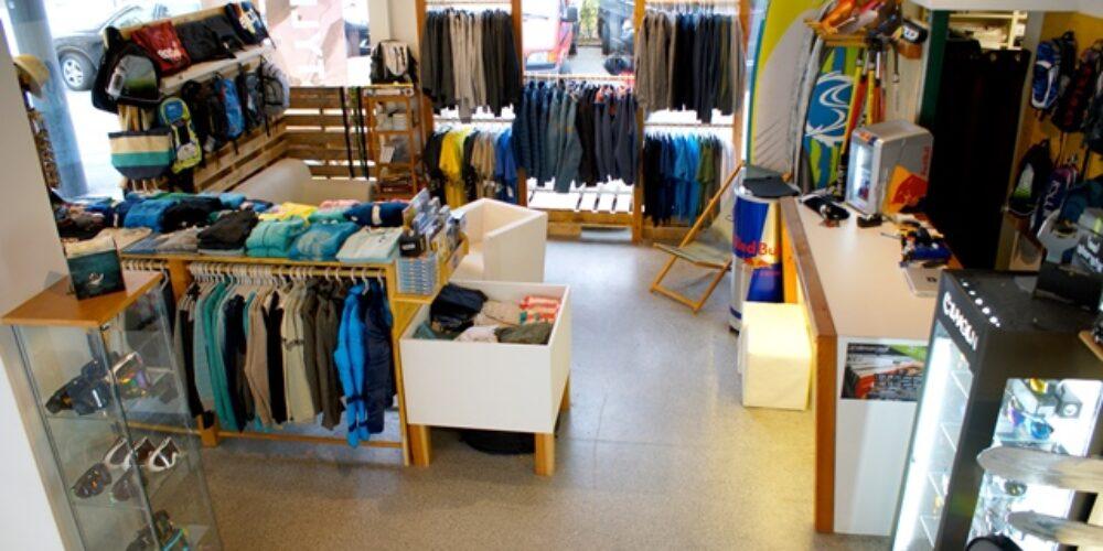 Wind- und Kitesurf, SUP und Wakeboard Store