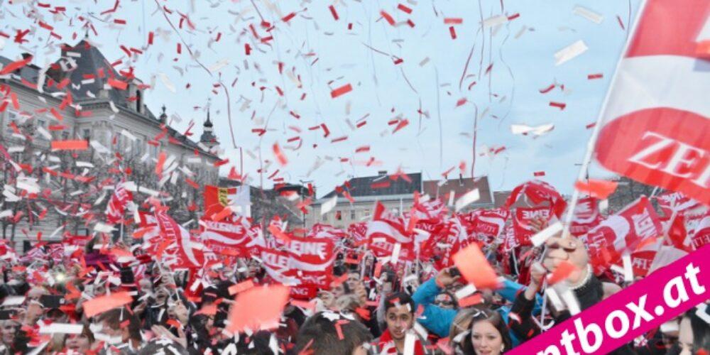 Klagenfurt feierte seinen Meister