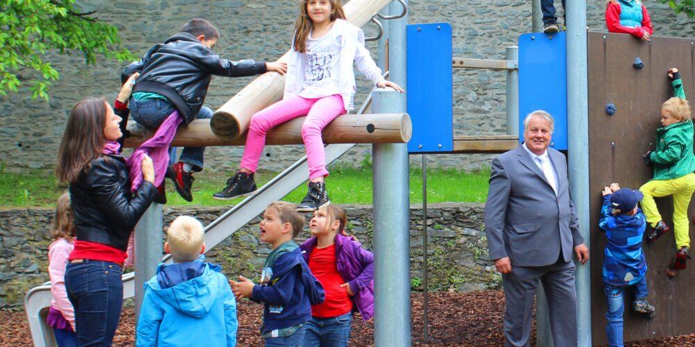 Alter Stadgraben: Kinderspielplatz wieder geöffnet