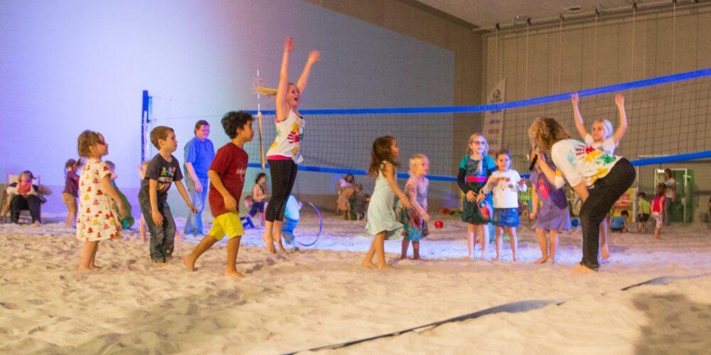 Klagenfurt feiert Kinder-Strandpartys