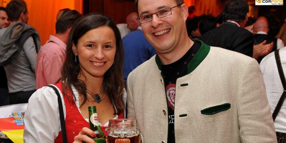 Beim Oktoberfest in der Schleppe-Brauerei