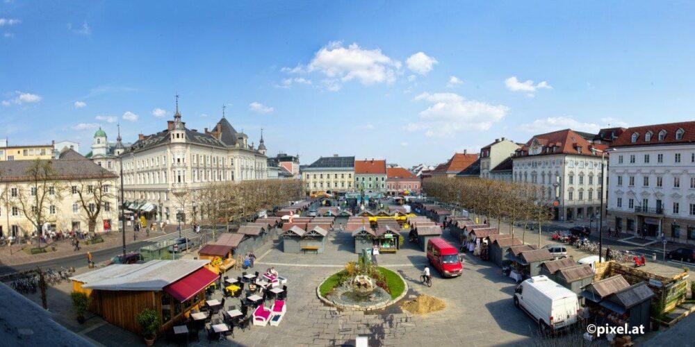Ostern in Klagenfurt: Ostermarkt mit buntem Programm
