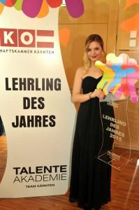 """Kosmetikerin Alina Waltl von der Beautyfarm """"Landhaus Servus"""" in Velden. Foto: Eventbox.at"""