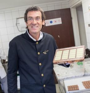 Dieter Craigher in der Schokoladenmanufaktur Craigher, Foto: Peter Just