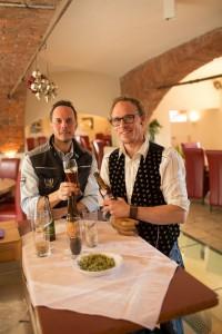 """Alois Planner und Klaus Feistritzer von """"Loncium"""". Foto: Peter Just"""