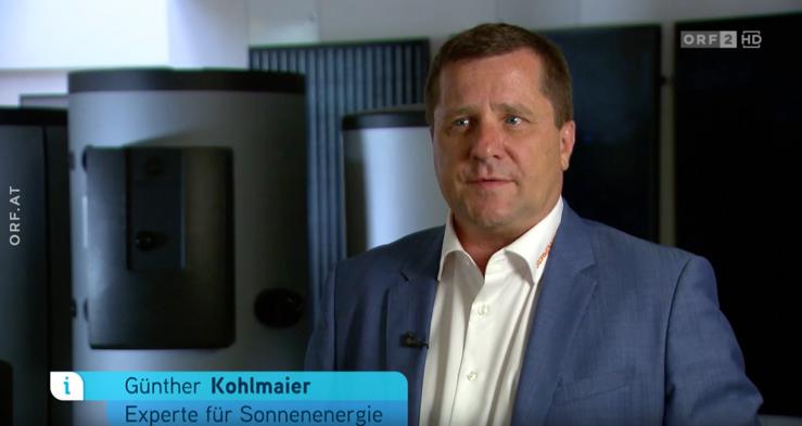 Günther Kohlmaier – Experte für Sonnenenergie (Quelle: YouTube-Channel von Sonnenkraft)