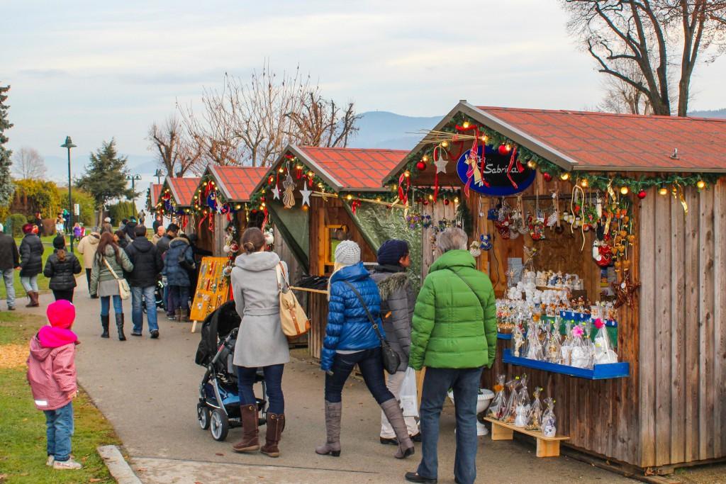 Einkaufsbummel in Velden. Foto: pixelpoint multimedia