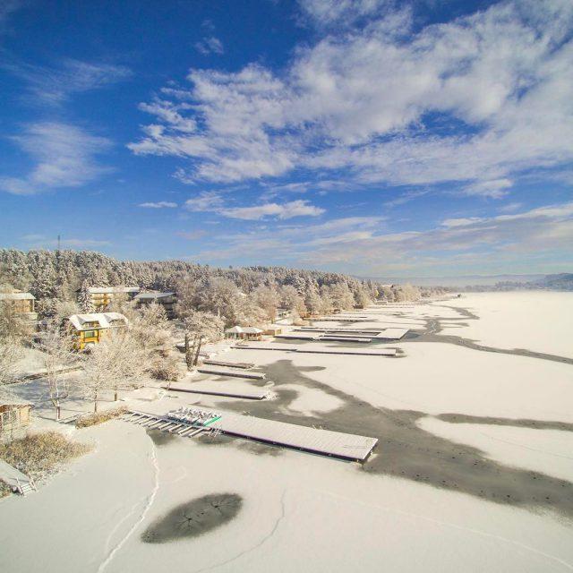 Winterzeit am Klopeiner See klopeinersee see winter lake winterwonderland beautifulhellip