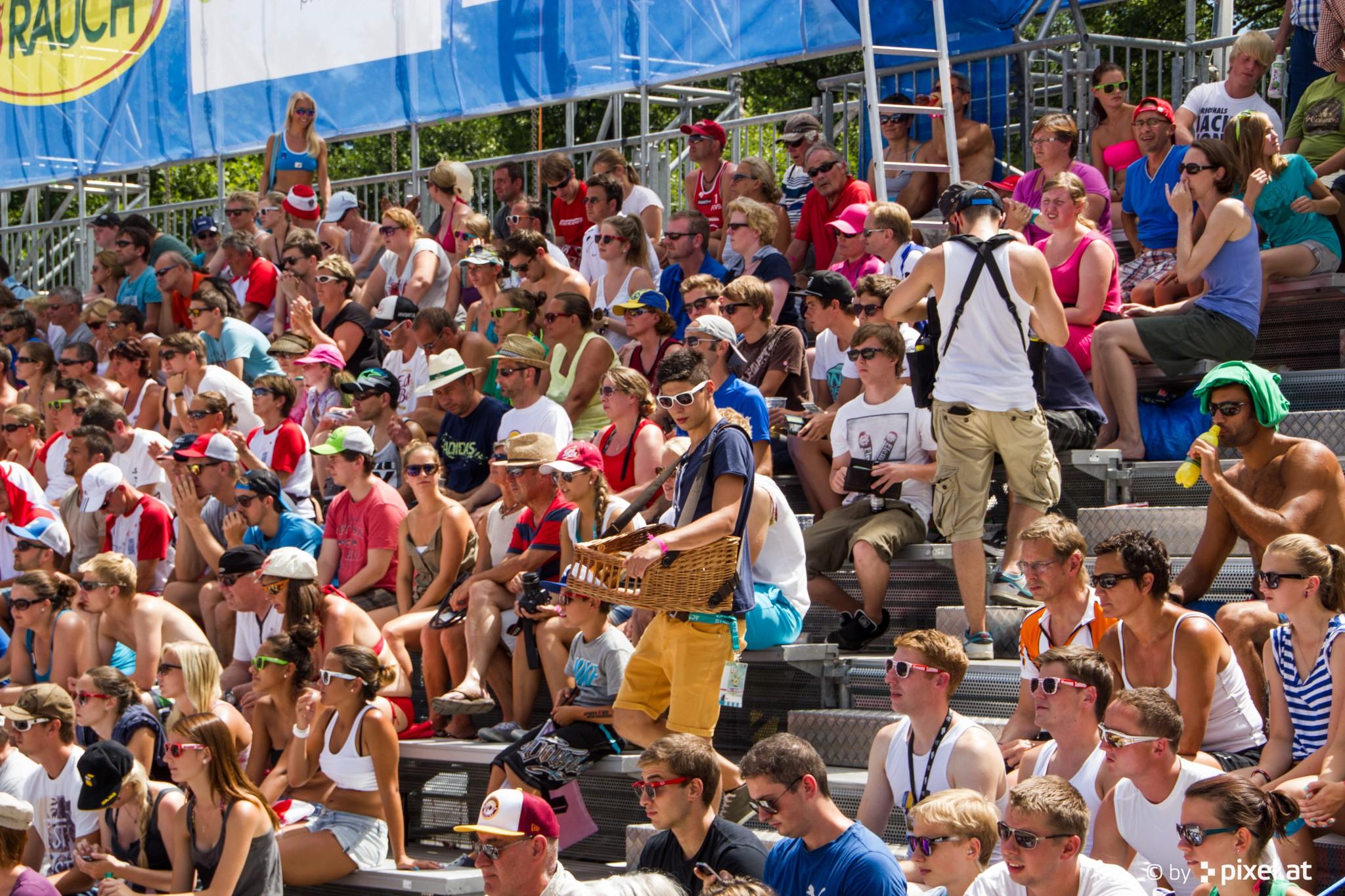 Beach Volleyball am Wörthersee. Foto: pixelpoint