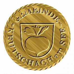Der goldene Keutschacher Rübentaler.