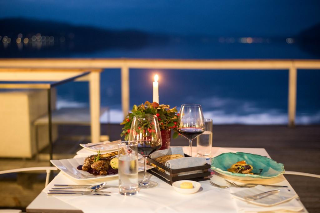 Zu Gast in Werzer's Beach Club Restaurant. Foto: pixelpoint/Zangerle