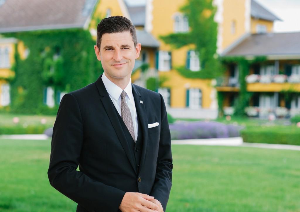 Hoteldirektor Sascha Marx. Foto: Falkensteiner Schlosshotel Velden