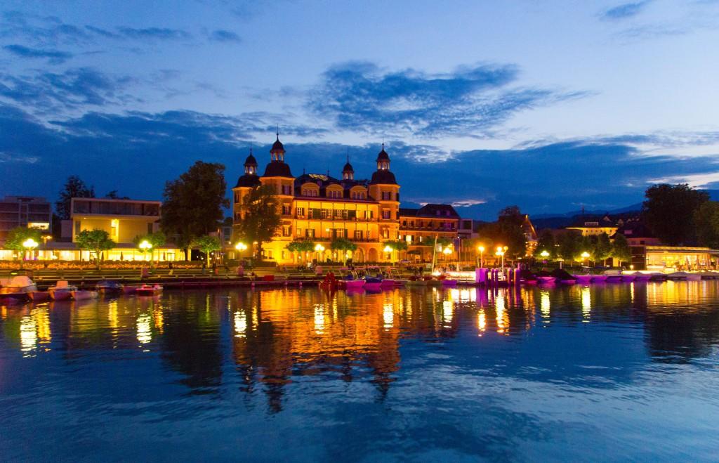 Das Schlosshotel in Velden. Foto: pixelpoint / Handler