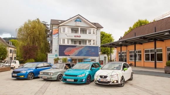 Beim GTi-Treffen in Pörtschach am Wörthersee. Foto: Nicolas Zangerle