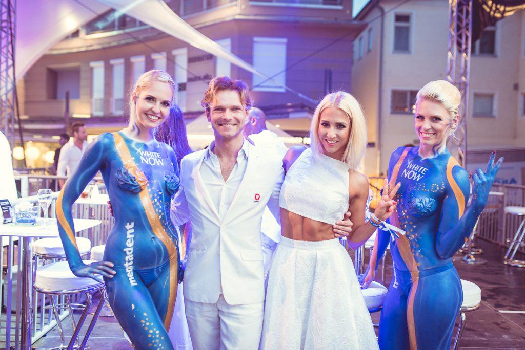 Am White-Nights-Parkett: die Dancing Stars Vadim Garbuzov und Kathrin Menzinger. Welche Pomis werden heuer in Velden das Tanzbein schwingen?© Niklas Stadler