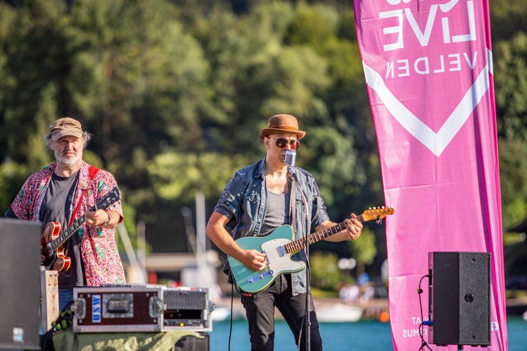 Blue Chilis@Lake Live Velden ©DerHandler/Wolfgang Handler