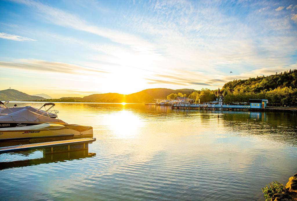 Sonnenuntergang in der Ostbucht, © DerHandler/Wolfgang Handler