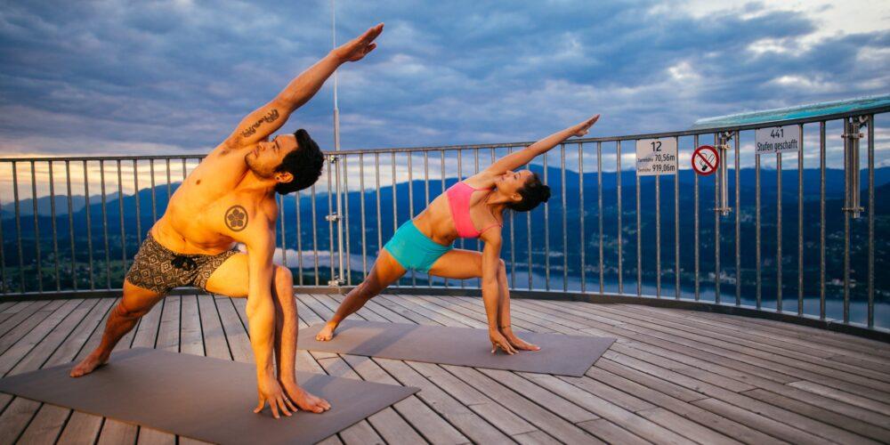Oktober = Yogazeit am See