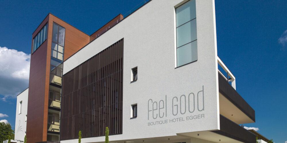 "Neu in Krumpendorf: ""feel good Boutique Hotel EGGER"""