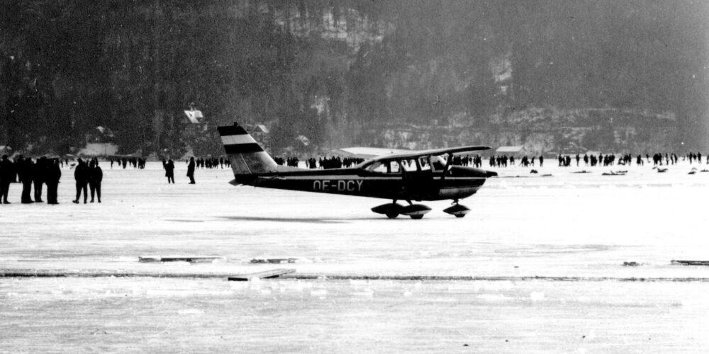 Krumpendorf Seinerzeit: Flugmekka im Jahr 1967
