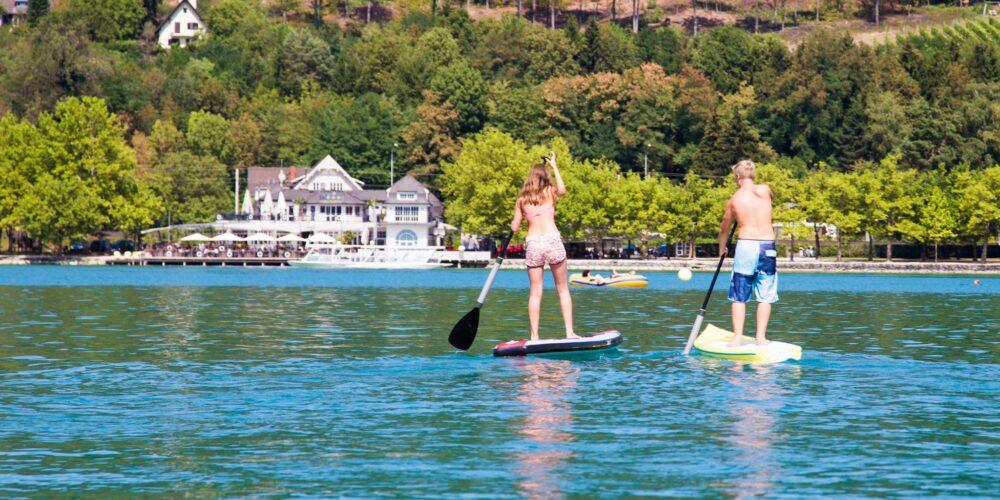 """SUP the Lake mit """"Nauti"""" in der Ostbucht"""