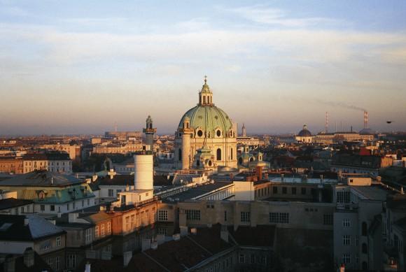 Wien von oben: Karlskirche©WienTourismus/Robert Alexander Herbst