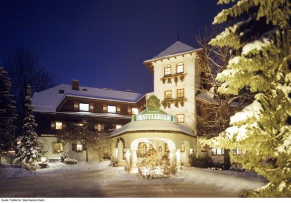 Hotel Trattlerhof im Winter