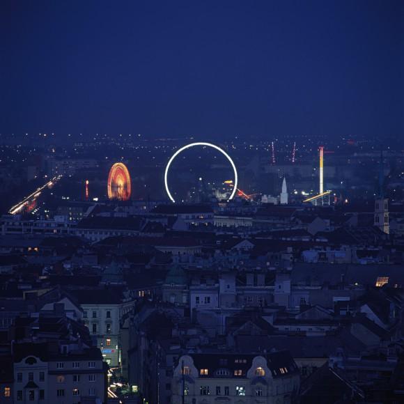 Wien von oben. Foto: WienTourismus/F 3