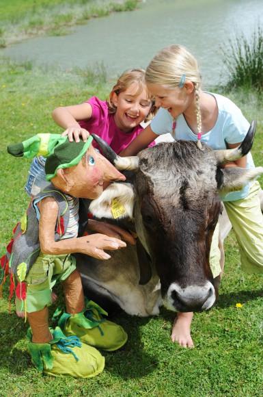 Willi Waldwichtel und die Waldbewohner sorgen bei den Sprösslingen für spannende Ferientage und unvergessliche Abenteuer rund um den Achensee Foto: Family Tirol