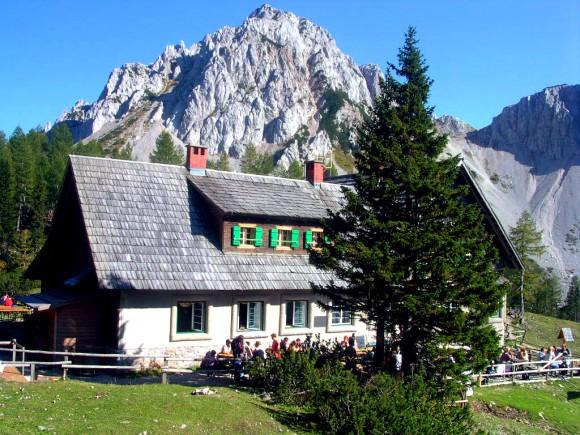 Die Klagenfurter Hütte. Fotos: pixelpoint.at