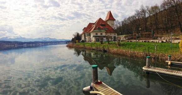 Schau-Kraftwerk Forstsee und Cafe-Bar Ampere. Foto: pixelpoint