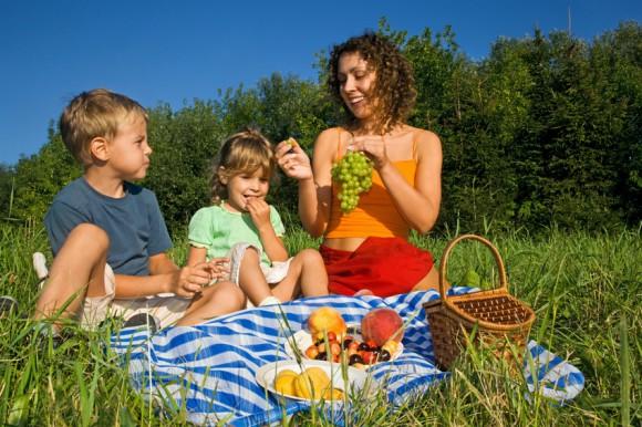 Picknick mit Kindern Copyright: Marktgemeinde Rudersdorf