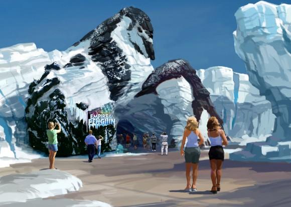 SeaWorld Orlando: Eröffnung von Antarctica